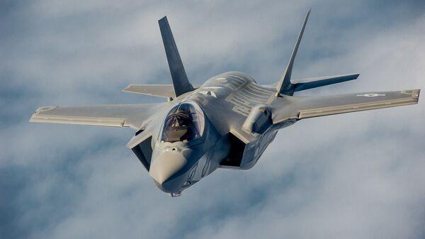 Американский истребитель Lockheed Martin F-35 Lightning II