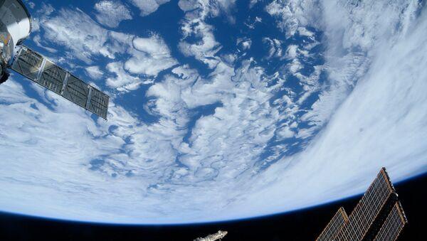 Атлантический океан снятый с Международной космической станции. Архив
