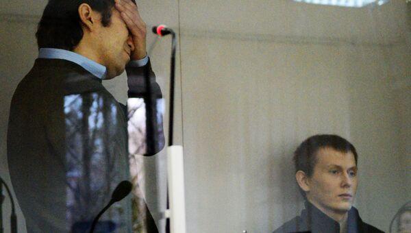 Граждане России Евгений Ерофеев (слева) и Александр Александров. Архивное фото