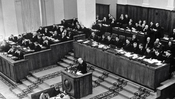 Съезд кпсс заслушав секретный доклад хрущева 1003