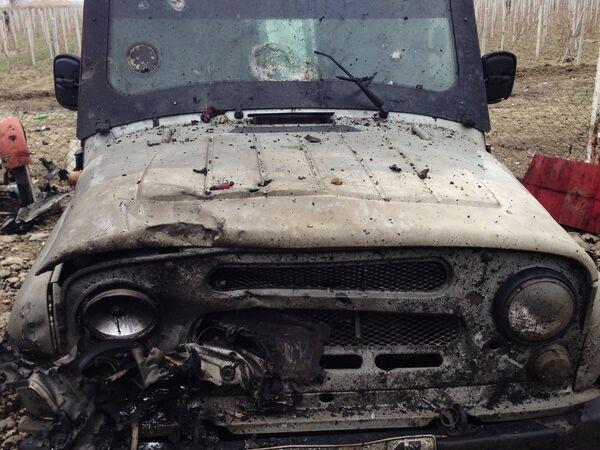 Взрыв около Джемикентского поста ГАИ в Дербентском районе Дагестана
