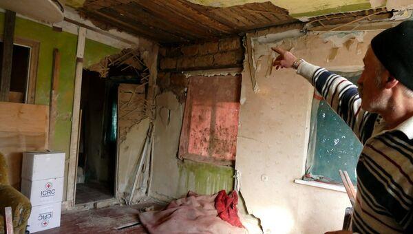 В поселке Зайцево в Донецкой области. Архивное фото
