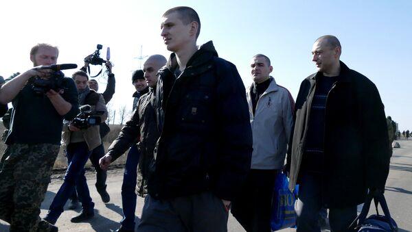 Обмен пленными в Донбассе. Архивное фото