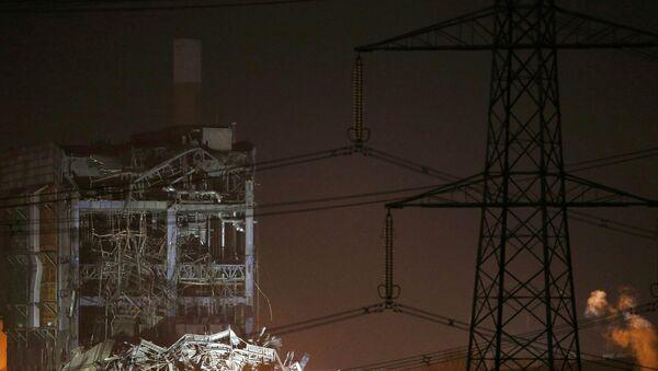 Взрыв на электростанции в Англии