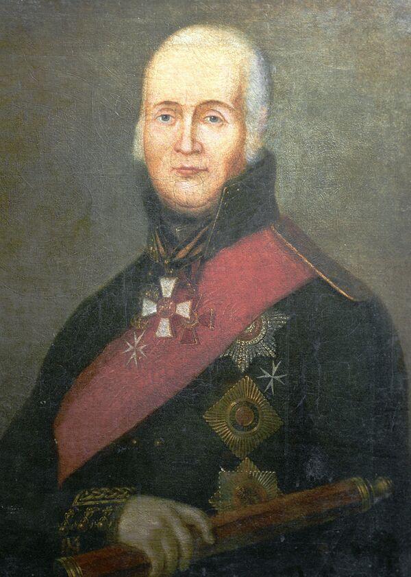 Федор Ушаков. Портрет