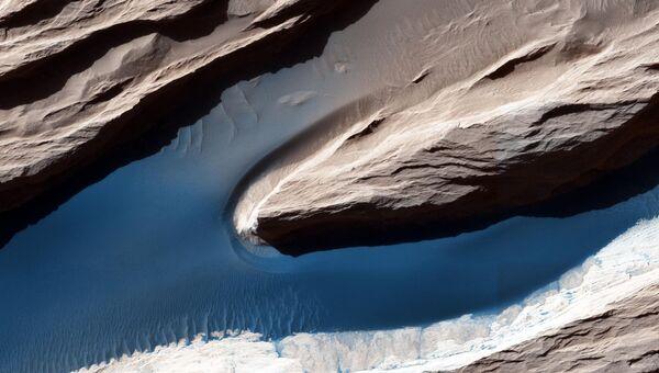 Поверхность на Марсе