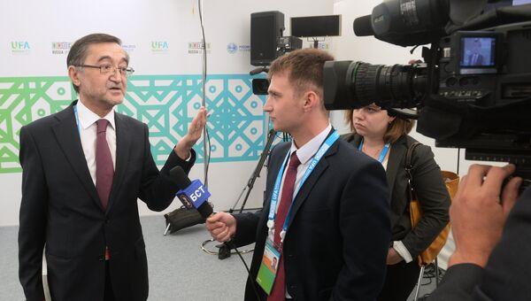 Спецпредставитель Президента Российской Федерации по делам Шанхайской организации сотрудничества (ШОС) Бахтиер Хакимов. Архивное фото