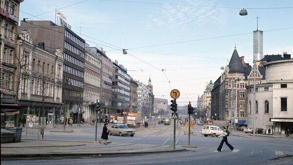 На улицах Хельсинки