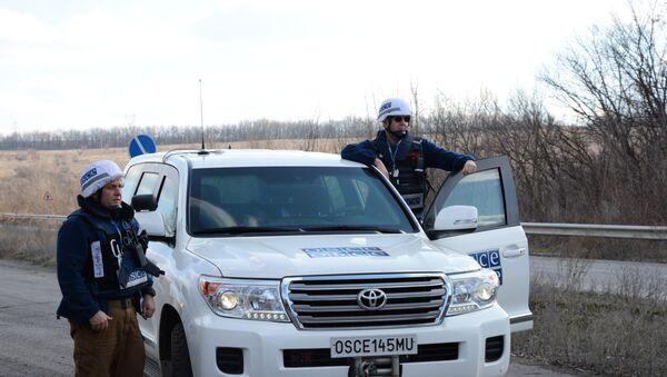 Сотрудники ОБСЕна Украине, архивное фото