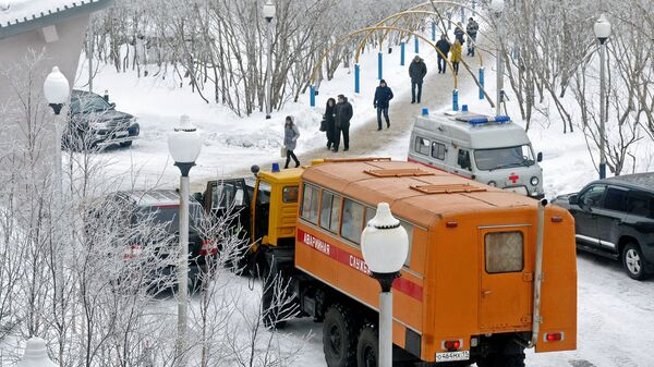 Работа шахты Северная в Воркуте