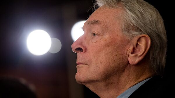 Глава независимой комиссии Всемирного антидопингового агентства (WADA) Ричард Паунд