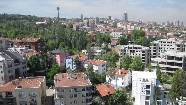 Вид на Анкару. Архивное фото