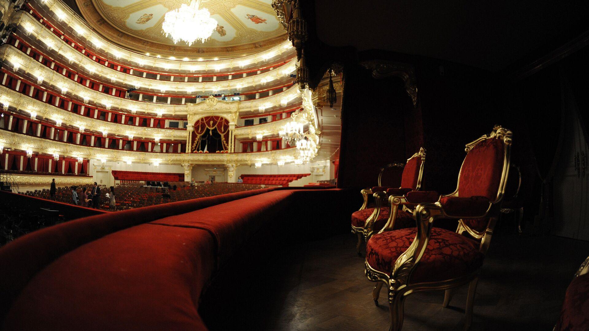 Интерьер Большого театра в Москве после завершения реконструкции - РИА Новости, 1920, 24.05.2021