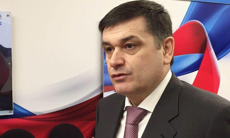 Депутат Госдумы от фракции Единая Россия Адальби Шхагошев