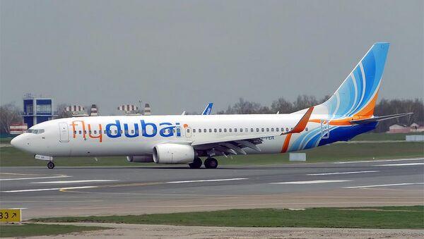 Boeing 737-800 авиакомпании Fly Dubai