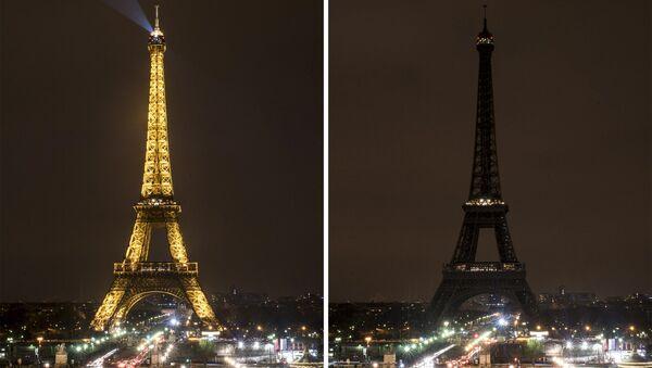 Экологическая акция Час Земли в Париже, Франция