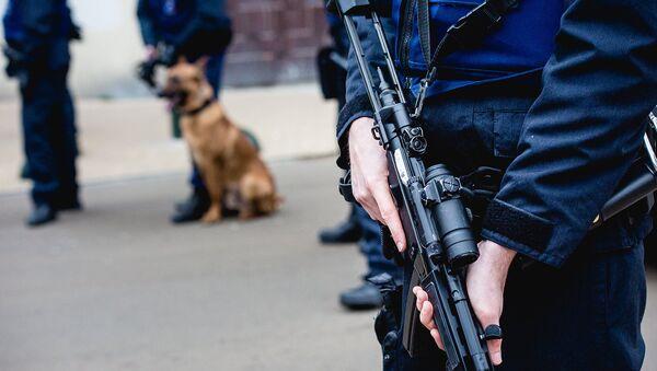 Полиция Брюсселя. Архивное фото