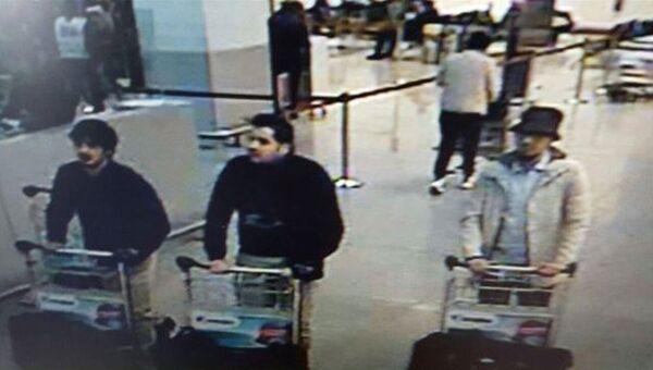 Подозреваемые в совершении теракта в аэропорту Брюсселя, Бельгия