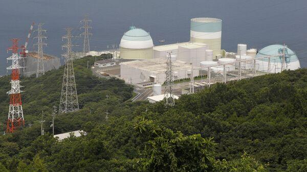 Атомная электростанция Иката, Япония. Архивное фото