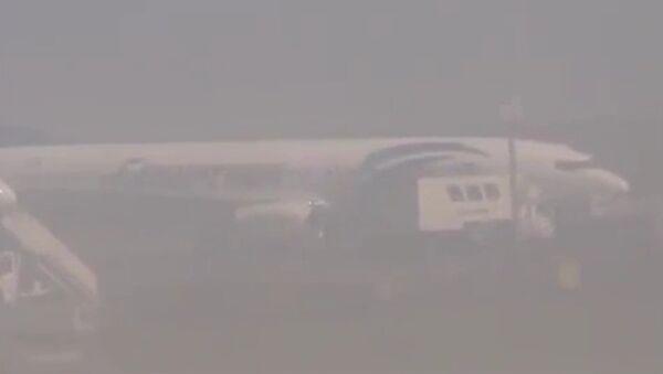 В сети появилось видео захваченного A320