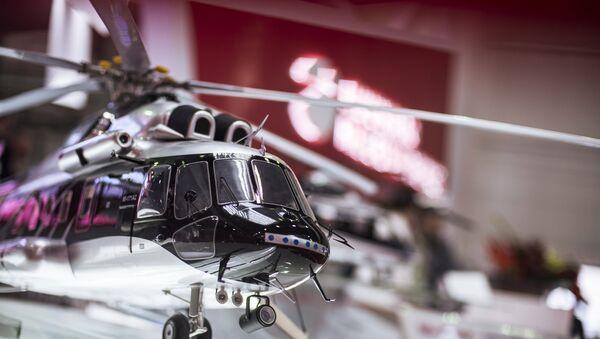 Модель многоцелевого вертолета Ми-171. Архивное фото
