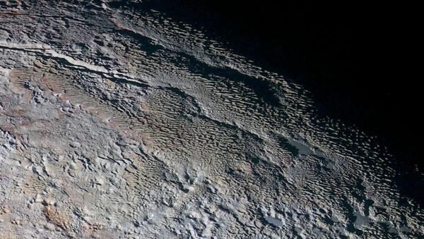 Мечи на поверхности Плутона