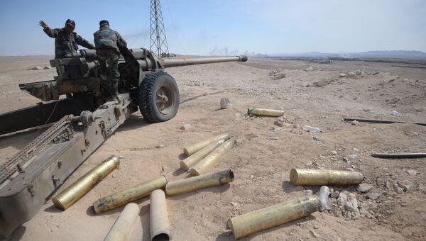 Война в Сирии. Архивное фото