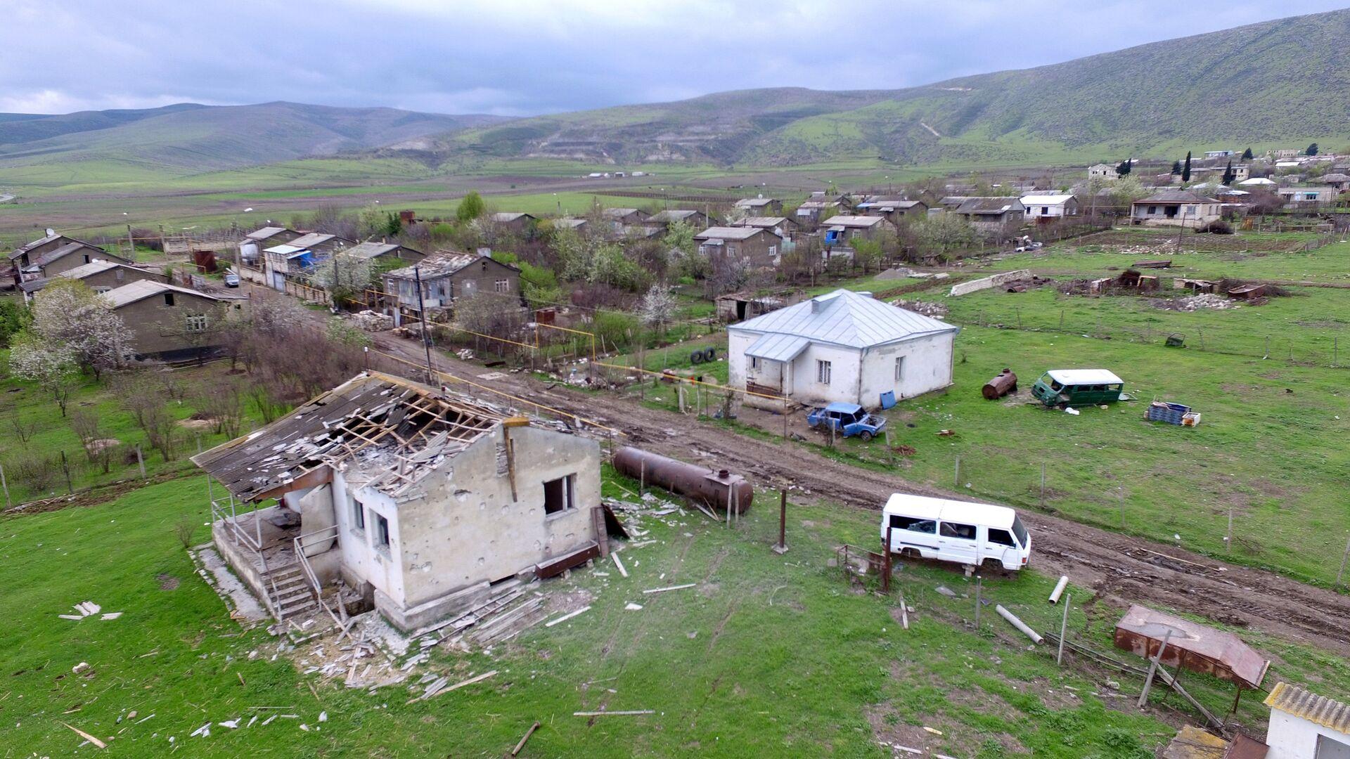 Ситуация в зоне карабахского конфликта - РИА Новости, 1920, 27.09.2020