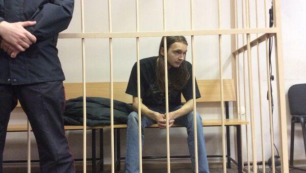 Подозреваемый в убийстве Дмитрия Циликина. Архивное фото