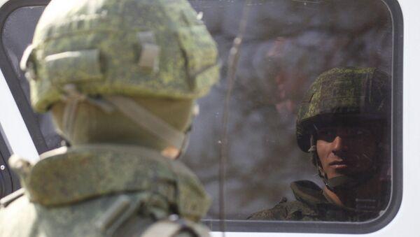 Военный в Ставропольском крае