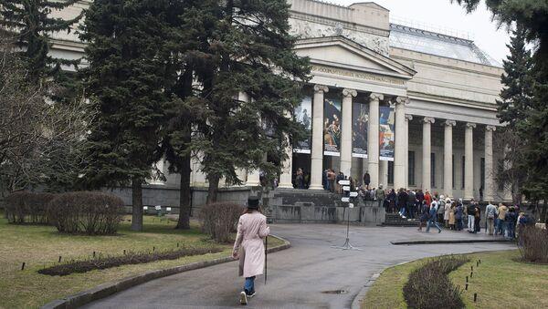 ГМИИ им. Пушкина. Архивное фото