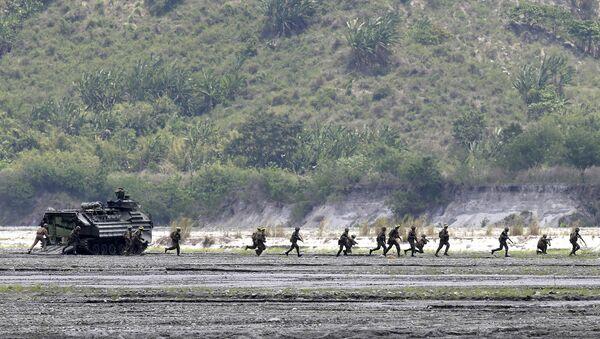 Совместные военные учения США и Филиппин. Архивное фото