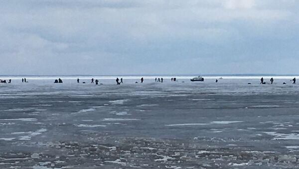 Спасение рыбаков силами МЧС в Ивановской области