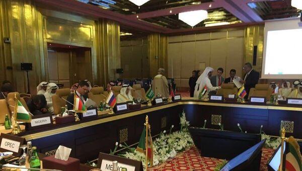 Встреча по заморозке добычи нефти в Дохе. 17 апреля 2016