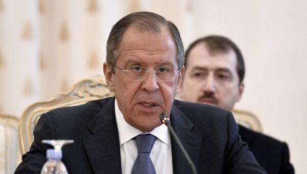 Министр иностранных дел России Сергей Лавров. Архивное фото