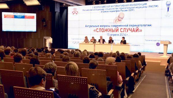 Швабе познакомил с оборудованием делегатов форума по перинатологии
