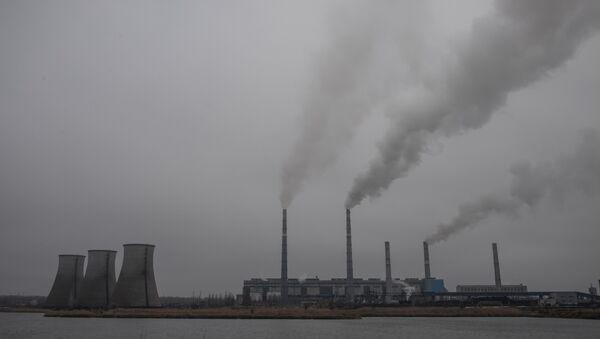 Старобешевская ТЭС, входящая в состав ПАО Донбассэнерго