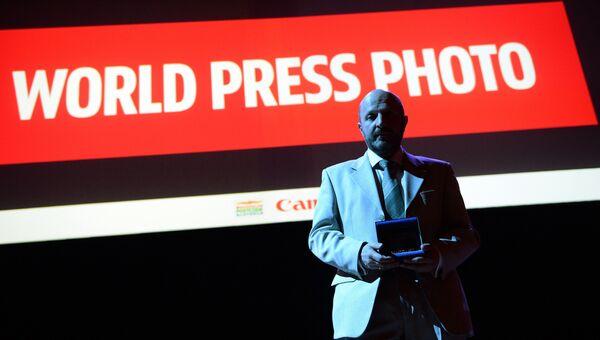 Фотокорреспонденту МИА Россия сегодня В. Песне вручили премию World Press Photo