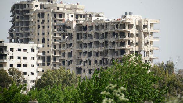 Район Нового города в Хомсе. Архивное фото