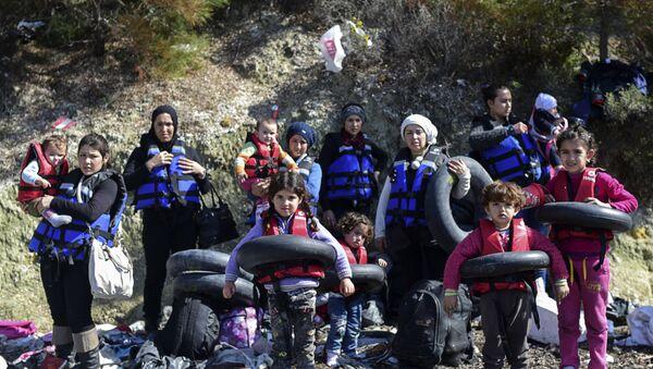 Сирийские беженцы в Чанаккале, Турция