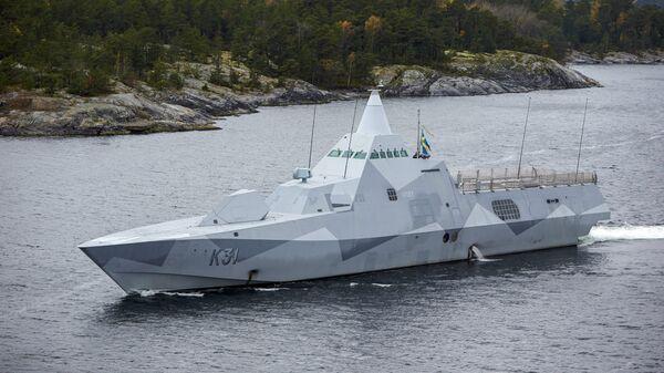Корвет ВМС Швеции