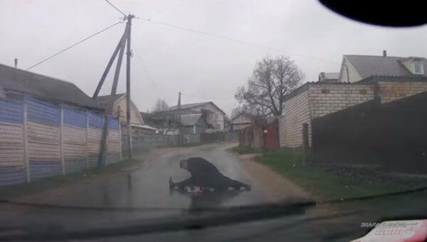 Акробатика на дороге