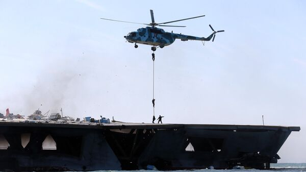 Учения Корпуса стражей Исламской революции в Ормузском проливе