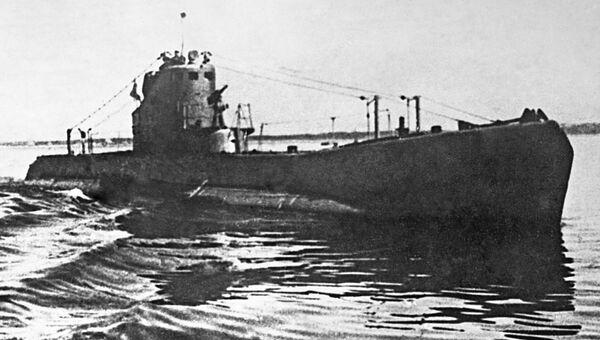 Подводная лодка типа Щука в дни Великой Отечественной войны. Архивное фото