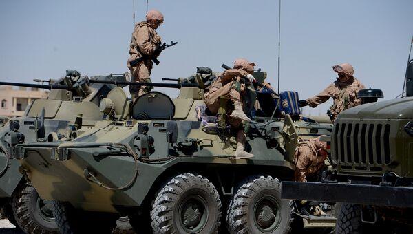 Солдаты Международного противоминного центра Вооруженных сил РФ . Архивное фото