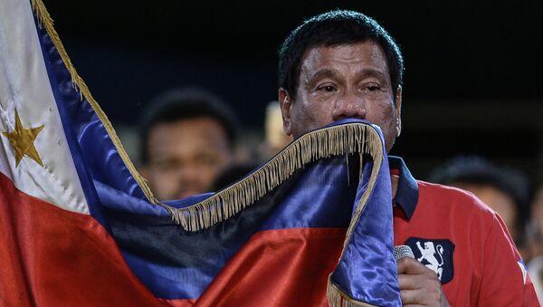 Кандидат в президенты Филиппин Родриго Дутэрте. Архивное фото.