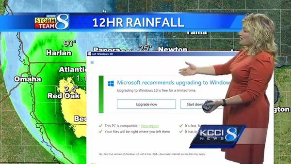 Windows 10 против прогноза погоды