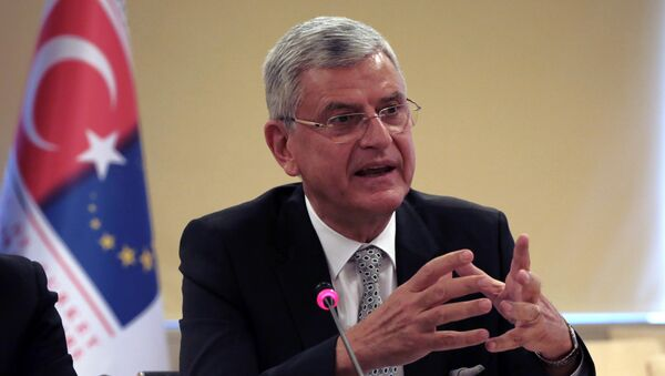 Министр Турции по делам ЕС Волкан Бозкыр. Архивное фото