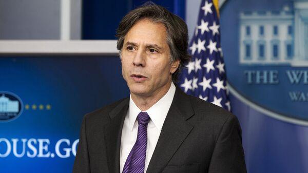 Заместитель советника Белого дома по национальной безопасности США Тони Блинкен