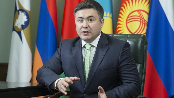 Министр по экономике и финансовой политике ЕЭК Тимур Сулейменов. Архивное фото